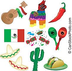 fête, mexicain