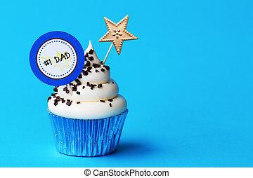 fête pères, petit gâteau
