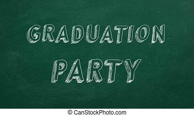 fête, remise de diplomes