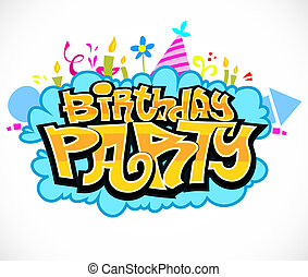 fêtede l'anniversaire