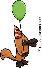 fêtede l'anniversaire, ornithorynque, utilisation