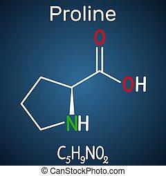 fórmula, p), molecule., plano de fondo, estructural, ...