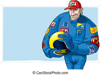 fórmula uno, conductor, casco