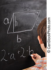 fórmulas, geométrico