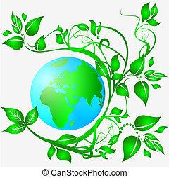 földdel feltölt, ökológia, kitakarít
