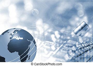 földgolyó, elektronika