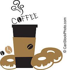 földimogyorók, kávécserje, ki, fog, csésze