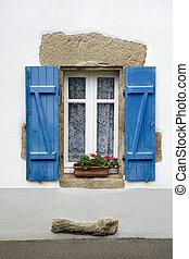 fönster, fransk