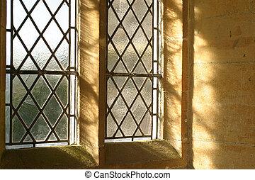 fönster, medeltida