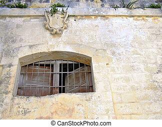 fönster, medeltida, fängelse