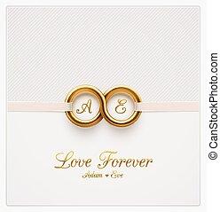 för alltid, kärlek