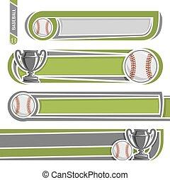 för, baseball, arkivalier