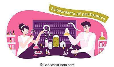 föreställning ikon, parfym