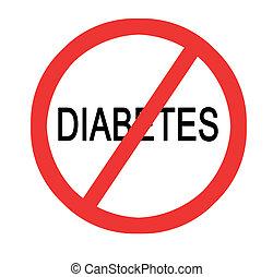 förhindrande, sockersjuka
