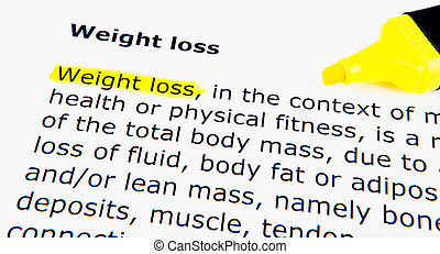 förlust, vikt