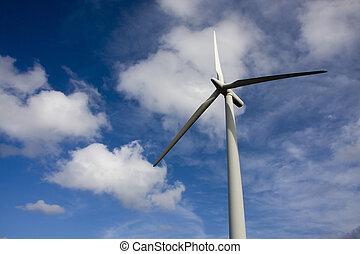 förnybar energi, slingra turbin