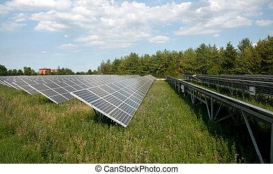 förnybart, energy:, sol, paneler