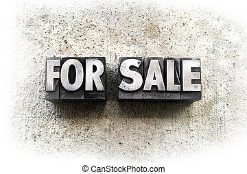 försäljning
