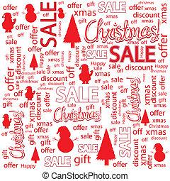 försäljningarna, jul