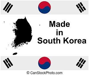 försegla, södra korea, gjord, kvalitet