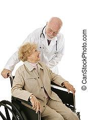förtroende, tålmodig, läkare
