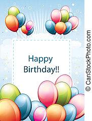 fødselsdag card