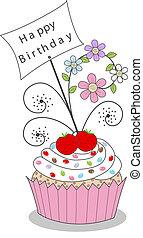 fødselsdag, glade