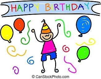 fødselsdag, min