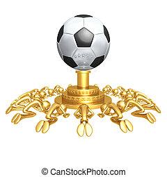 fútbol americano del fútbol, adoración