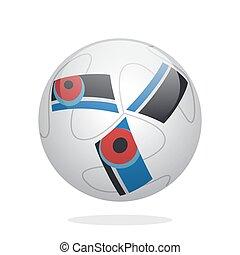 fútbol americano del fútbol, pelota
