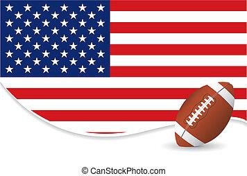 fútbol americano, plano de fondo