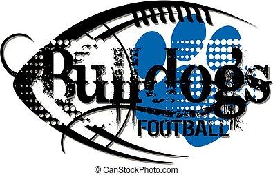 fútbol, bulldogs