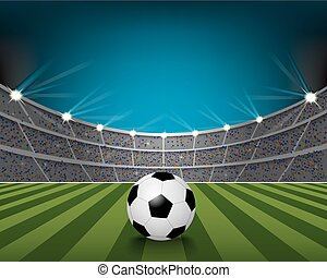 fútbol, estadio