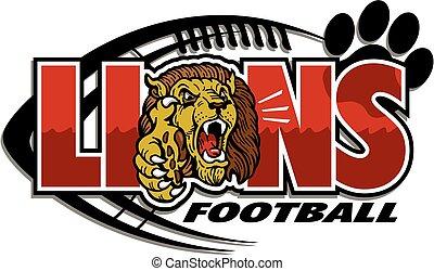 fútbol, leones