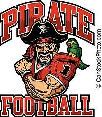 fútbol, pirata