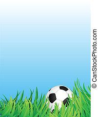 fútbol, plano de fondo