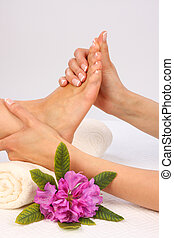 füße, massage