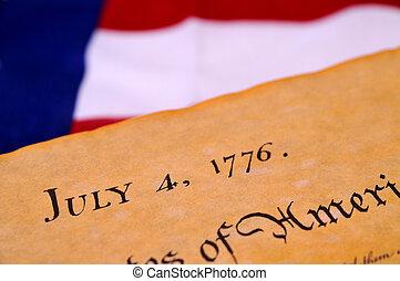 függetlenségi nyilatkozat