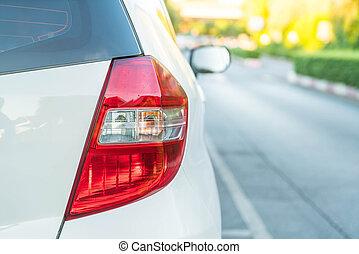 führen lichter, von, a, auto
