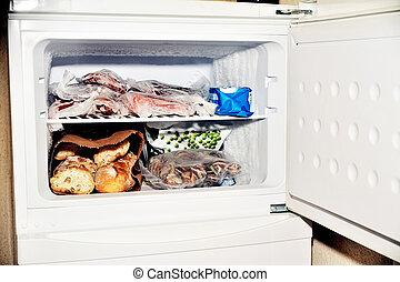 fülke, mélyhűtő, hűtőgép