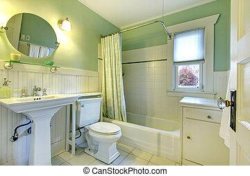 fürdőszoba, felfrissítő, kieszel