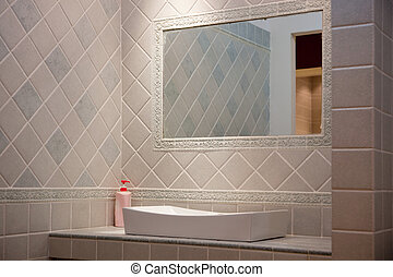 fürdőszoba, lakberendezési tárgyak