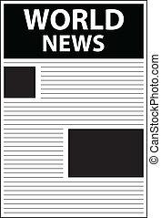 főcím, világ, hír