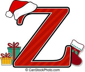 főváros, z, levél, karácsony