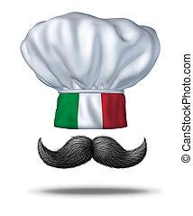 főzés, olasz