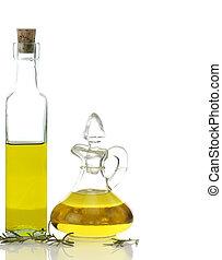 főzés, palack, olaj