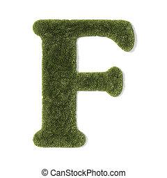 fű, -, betűtípus, f, levél