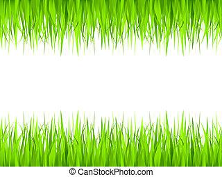 fű, keret