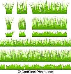 fű, zöld