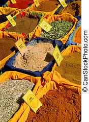 fűszeráruk, piac